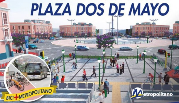 Ampliación Plaza 2 de Mayo - Metropolitano